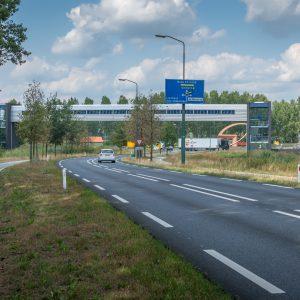 Luchtbrug Bavaria - Provinciale weg 2